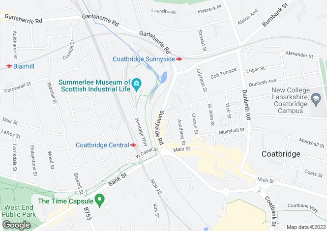 Map for Baird Street,