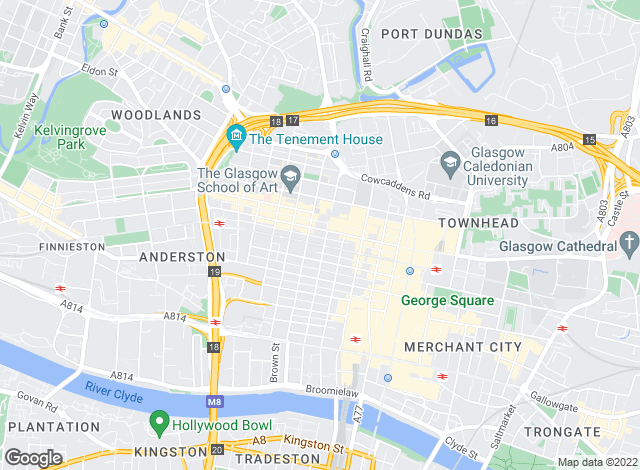 Map for Rettie & Co , Glasgow - Sales