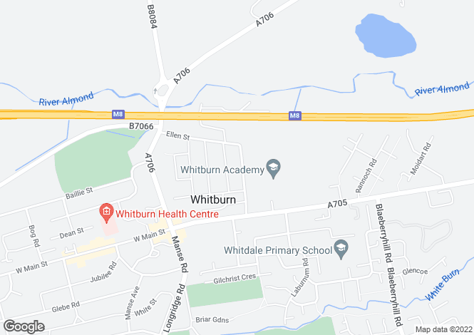 Map for Shanks Road,