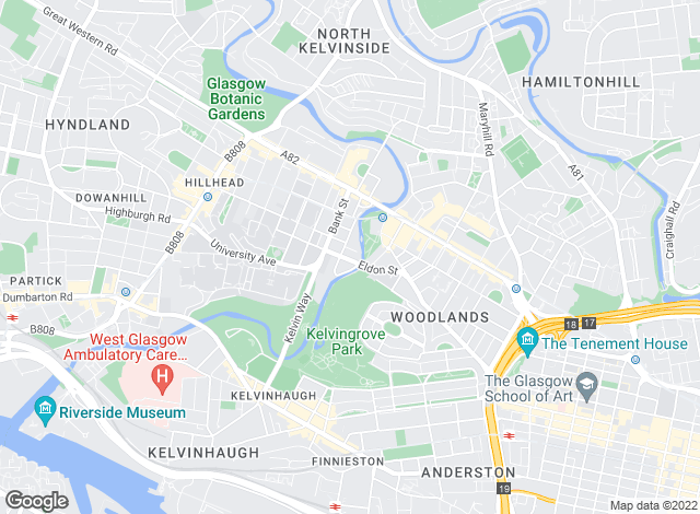 Map for Cairn Estate Agency, Glasgow