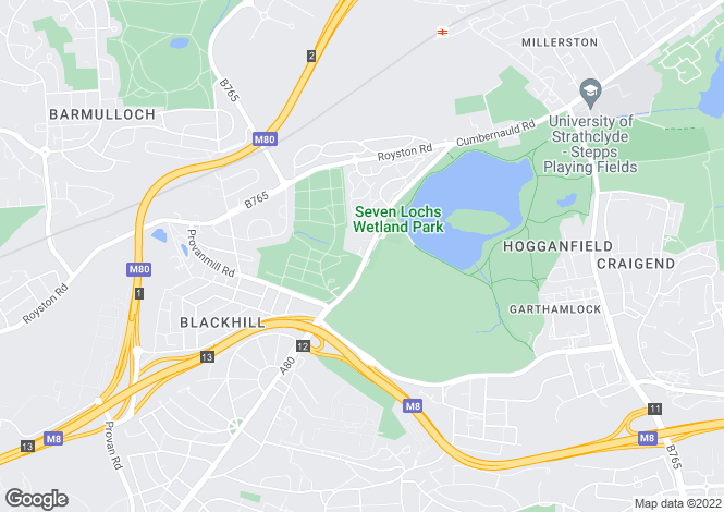 Map for Lochview Gate,