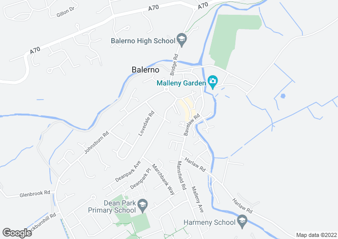 Map for Deanpark Grove,