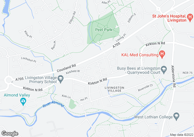 Map for 112 Kirkfield East,