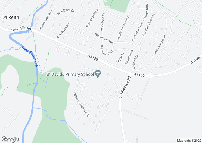 Map for The Hazelwood at The Scholars, Lauder Road,