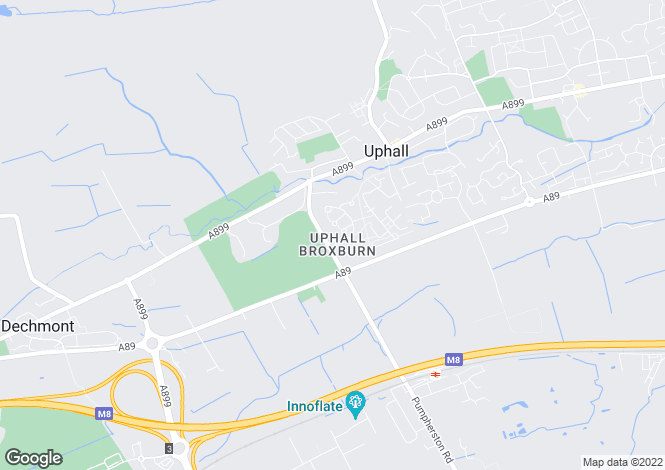 Map for MacLardy Court, Uphall, West Lothian