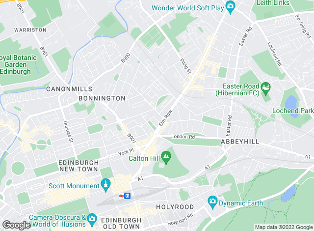Map for McEwan Fraser Legal, Edinburgh