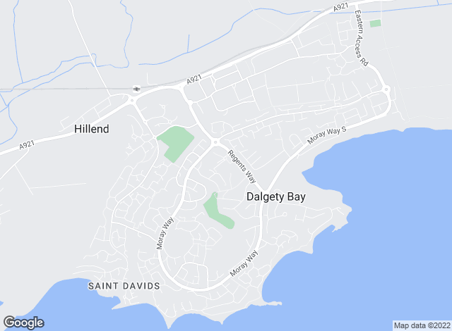 Map for YOUR MOVE, Dalgety Bay