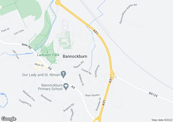 Map for Station Rd, Bannockburn