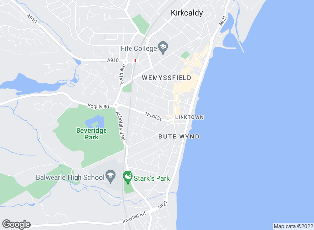 Map for Easy Move Everytime Ltd, Kirkcaldy