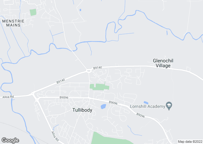 Map for Marshall Way, Tullibody, Tullibody, Tullibody