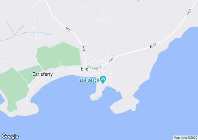 Map for NORTH STREET, ELIE, FIFE