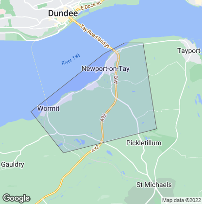 Map of property in Newport-On-Tay