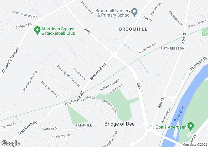 Map for P3093 Broomhill Road