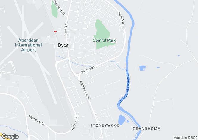 Map for THE SPEY at Devona Gate, Wellheads Avenue,