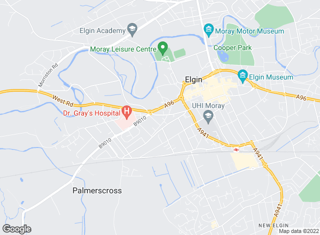 Map for CCL Consultancy Ltd, Elgin