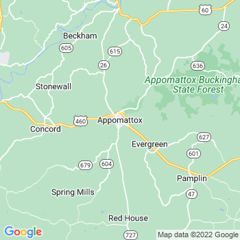 Appomattox in Virginia(VA)- map, population, zip codes, coutnies, area codes, time zones, households, income, news, weather, metro areas, local time at localistica.com