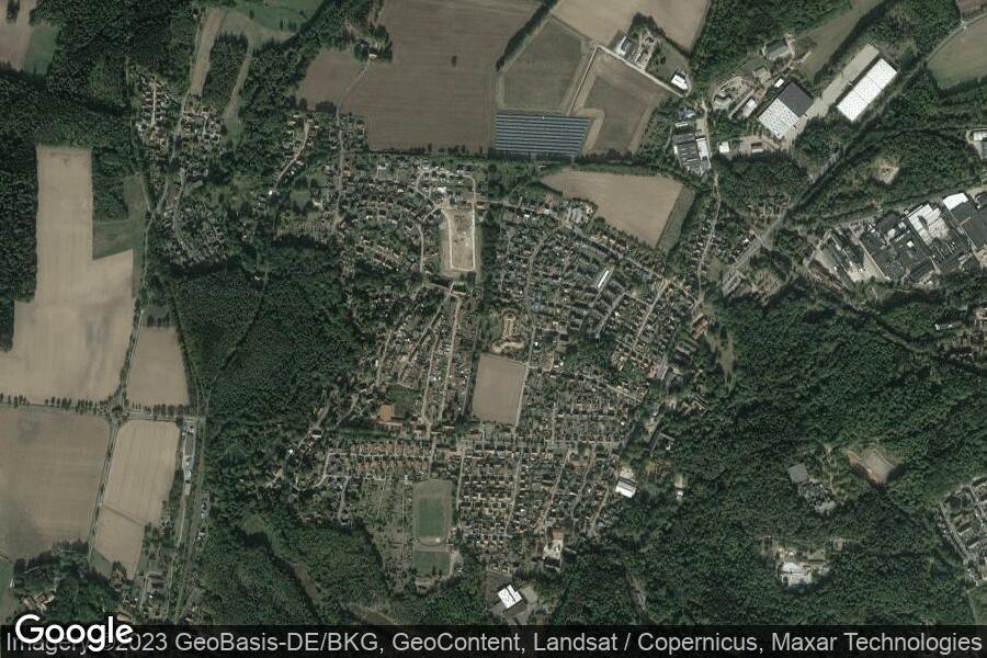 Benefeld (Satellitenbild)