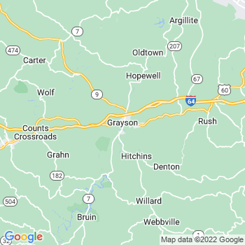 Grayson in Kentucky(KY)- map, population, zip codes, coutnies, area codes, time zones, households, income, news, weather, metro areas, local time at localistica.com