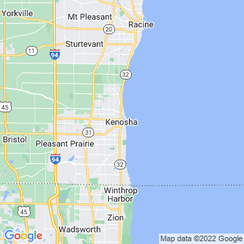 Kenosha in Wisconsin(WI)- map, population, zip codes, coutnies, area codes, time zones, households, income, news, weather, metro areas, local time at localistica.com