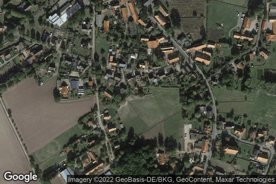 Kirchboitzen (Satellitenbild)