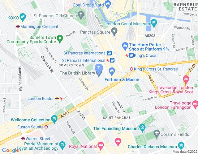 Location map for Joe Orton: What The Butler Saw