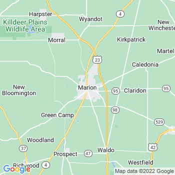 Marion in Ohio(OH)- map, population, zip codes, coutnies, area codes, time zones, households, income, news, weather, metro areas, local time at localistica.com