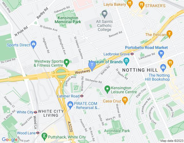 Location map for Maxilla Hall Social Club