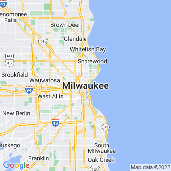 Milwaukee in Wisconsin(WI)- map, population, zip codes, coutnies, area codes, time zones, households, income, news, weather, metro areas, local time at localistica.com