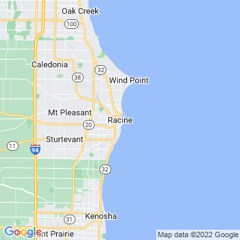 Racine in Wisconsin(WI)- map, population, zip codes, coutnies, area codes, time zones, households, income, news, weather, metro areas, local time at localistica.com