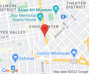 Staticmap?center=san%2bfrancisco%2c+united%2bstates&key=aizasyccormtuerxtfkpuogompldwejdotr-u0m&maptype=roadmap&markers=color%3ared%7csan%2bfrancisco%2c+united%2bstates&sensor=false&size=300x250&zoom=14
