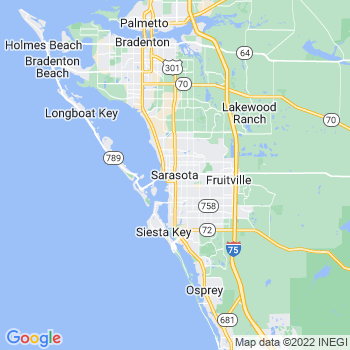 Sarasota in Florida(FL)- map, population, zip codes, coutnies, area codes, time zones, households, income, news, weather, metro areas, local time at localistica.com