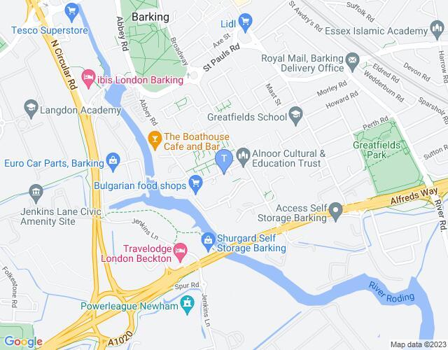 Location map for Studio 3 Arts