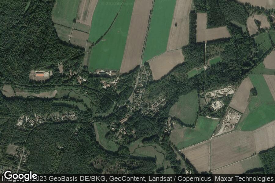Uetzingen (Satellitenbild)
