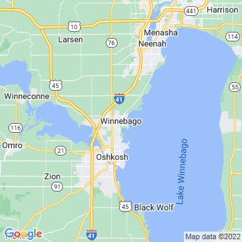 Winnebago in Wisconsin(WI)- map, population, zip codes, coutnies, area codes, time zones, households, income, news, weather, metro areas, local time at localistica.com