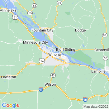 Winona in Minnesota(MN)- map, population, zip codes, coutnies, area codes, time zones, households, income, news, weather, metro areas, local time at localistica.com