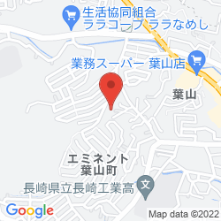事業所所在地付近の地図