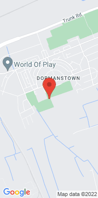 Map showing the location of the Redcar Dormanstown monitoring site