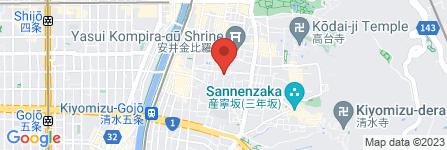 地図 若岑三味線教室