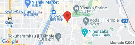 地図 ヤサカ駐車場