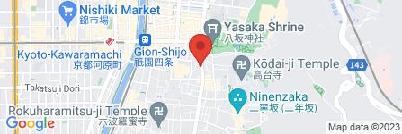 地図 京焼肉 茶屋