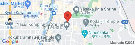 地図 祇園 甲部 歌舞練場