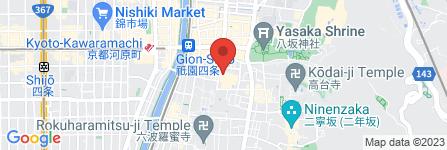 地図 お茶屋 つる居
