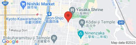 地図 札幌 かに家 京都店