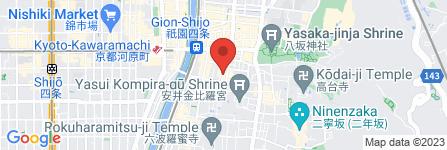 地図 祇園 一平