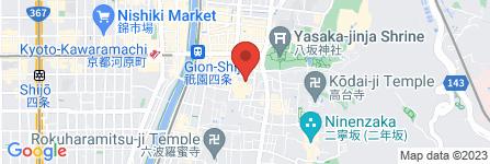 地図 ギオンコーナー