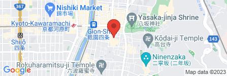 地図 ウブロブティック京都