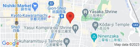 地図 蝿庭酒店