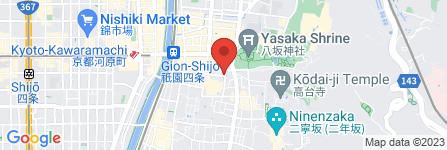 地図 祇園 山岡