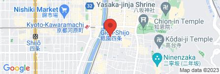 地図 京履物 祇園 ない藤