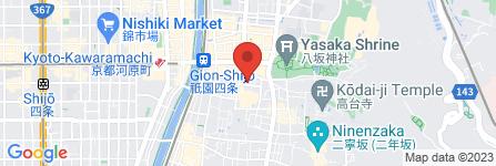 地図 祇園 おかだ